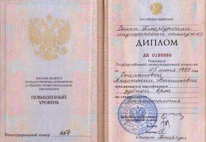 Ушкова Анастасия Васильевна