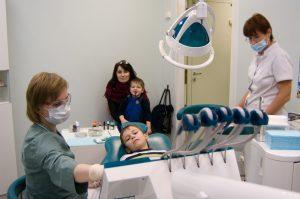 Детский прием в стоматологии Радуга